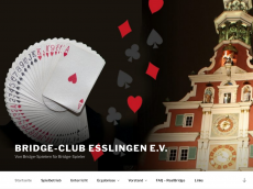 Screenshot der Domain bridge-esslingen.de