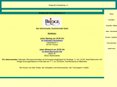 Screenshot der Domain bridge-fichtelgebirge.de