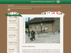 Screenshot der Domain bridge-rheinberg.de