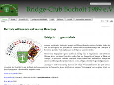 Screenshot der Domain bridgeclub-bocholt.de