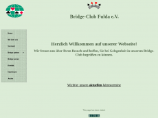 Screenshot der Domain bridgeclub-fulda.de