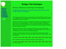 Screenshot der Domain bridgeclub-hattingen.de