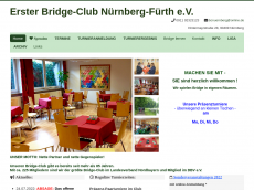 Screenshot der Domain bridgeclub-nuernberg.de