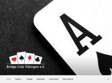Screenshot der Domain bridgeclub-tuebingen.de