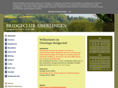 Screenshot der Domain bridgeclub-ueberlingen.de