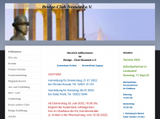 Screenshot der Domain bridgeclubneuwied.de