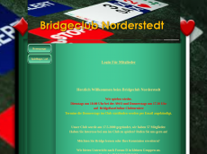 Screenshot der Domain bridgeclubnorderstedt.de