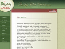 Screenshot der Domain bridgeclubottobrunn.de