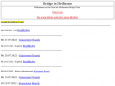 Screenshot der Domain bridgeheilbronn.de