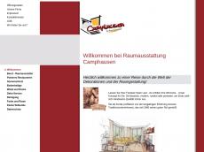 Screenshot der Domain camphausen.de