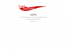 Screenshot der Domain capa-danzante.de