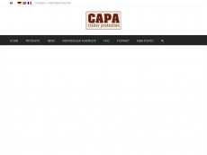 Screenshot der Domain capa-shop.de