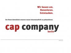 Screenshot der Domain capcompany.de