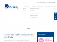 Screenshot der Domain capconsult.de