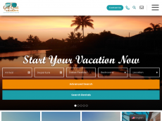 Screenshot der Domain cape-coral-ferienhaus.de