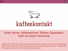 Screenshot der Domain capeccino.de