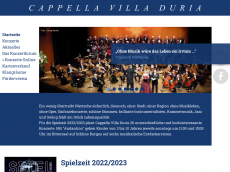 Screenshot der Domain capellavilladuria.de