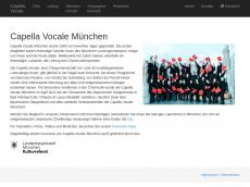Screenshot von capellavocale.de