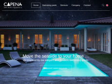 Screenshot der Domain capena-pool.de
