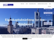 Screenshot der Domain capfinance.de