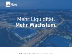 Screenshot der Domain capflow.de