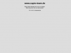 Screenshot der Domain capio-team.de