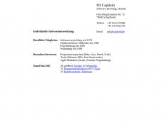 Screenshot der Domain capitain.de