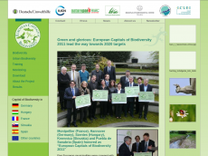 Screenshot der Domain capital-biodiversity.eu