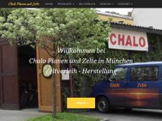 Screenshot der Domain chalo-planen.de