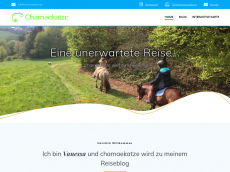Screenshot der Domain chamaekatze.de