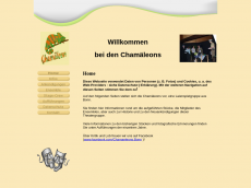 Screenshot der Domain chamaeleons-web.de