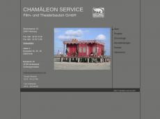 Screenshot der Domain chamaeleonservice.de