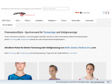 Screenshot der Domain chamaeleonstyle.de