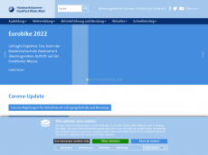 Screenshot der Domain chamber-web.de