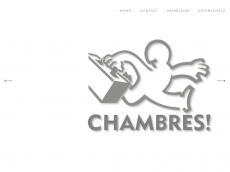 Screenshot der Domain chambres.de