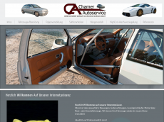Screenshot der Domain chamer-autoservice.de