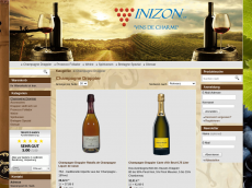Screenshot der Domain champagne-drappier.de