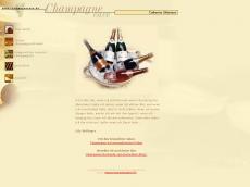 Screenshot der Domain champagnecave.de