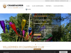 Screenshot der Domain champagner-club.de