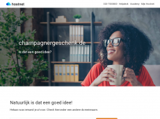Screenshot der Domain champagnergeschenk.de