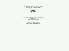 Screenshot der Domain chg-duroplast.de