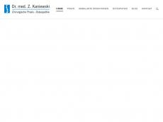 Screenshot der Domain chirurgie-lev.de