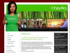 Screenshot der Domain chisao.de