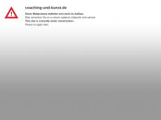 Screenshot der Domain coaching-und-kunst.de