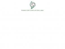 Screenshot der Domain corylus-avellana.de