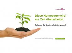 Screenshot von corys-homepage.de