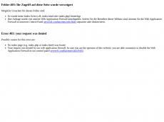 Screenshot der Domain creativhaus.de