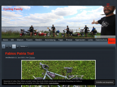 Screenshot der Domain cycling-family.info
