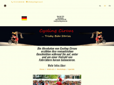 Screenshot der Domain cyclingcircus.de