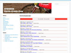 Screenshot der Domain cyclocross-nord.de